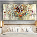 Tree of Life Landscape Wall Art Canvas for Living Room - Best Room Tapestry