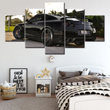 Canvas Paintings HD Artwork Modern 5 Pieces Nissan Skyline Gtr Car Pictures for Home Decorative and Wall Art - Best Room Tapestry
