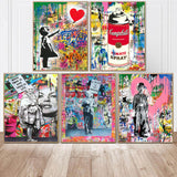 Street Spray Wall Art Canvas For Kids Room Decor - Best Room Tapestry