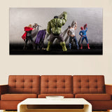 The Avengers Super Hero Canvas for Home Decor - Best Room Tapestry
