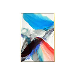 Abstract Colorful Feather Canvas Wall Art Painting For Living Room or Bedroom Wall Art Home Decor
