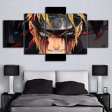 5 Pieces Naruto Anime Canvas Home Decor Wall Art for Bedroom or Living Room Wall Decor - Best Room Tapestry