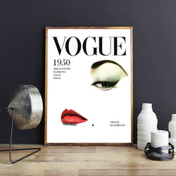 Vogue Fashion Style Decoration Wall Art Canvas for Woman Living Room - Best Room Tapestry
