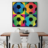 Modern Wall Art Soccer Fan Canvas Painting For Hotel Aisle and Living Room or Home Decoration - Best Room Tapestry