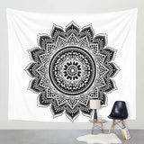 Printed Lotus Tapestry -Bohemian - Best Room Tapestry