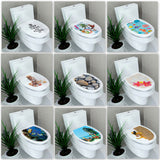 3D Commode Sticker - Best Room Tapestry