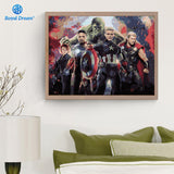 The Avengers Wall Art Canvas - Best Room Tapestry