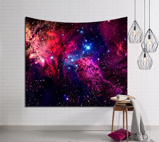 Mysterious Galaxy Tapestry - Best Room Tapestry
