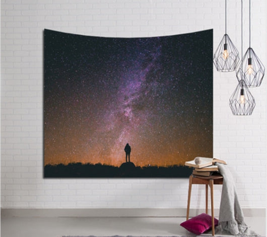 Lonely Sky Tapestry - Best Room Tapestry