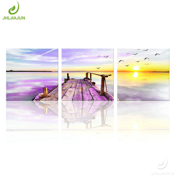 Sea View Art Canvas Painting For Living Kitchen And Room Decor - Best Room Tapestry