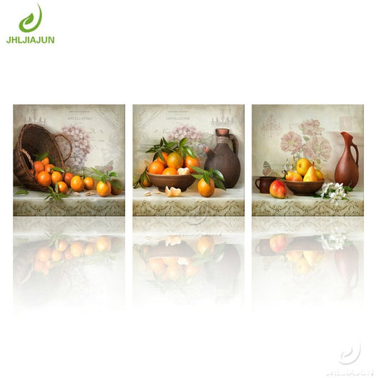 Fruit Art Canvas Painting For Living Kitchen And Room Decor - Best Room Tapestry