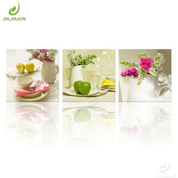 Flower and Fruit Art Canvas Painting For Living Kitchen And Room Decor - Best Room Tapestry