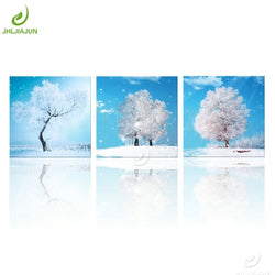 Snow Flower Art Canvas Painting For Living Kitchen And Room Decor - Best Room Tapestry