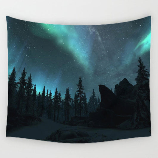 Aurora Nature Tapestry