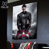 Captain America Poster The Avengers Canvas - Best Room Tapestry