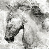 Horse Head Ink Abstract Art Posters and Wall Art Canvas Decorative Pictures for Living Room or Home Decor - Best Room Tapestry
