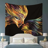 Sharp Touch Abstract Tapestry - Best Room Tapestry