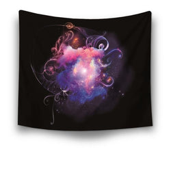 Sunrise Fountain Galaxy Tapestry - Best Room Tapestry