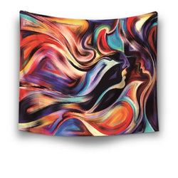 Iconic Base Abstract Tapestry - Best Room Tapestry