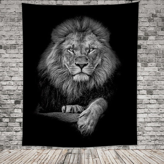 Lion Quake Tapestry - Best Room Tapestry
