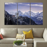 Neuschwanstein Castle Bavaria Germany Modern Canvas for Home Decorative Wall Art - Best Room Tapestry