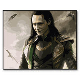 Loki DIY Digital Oil Painting Canvas for Wall Decor - Best Room Tapestry