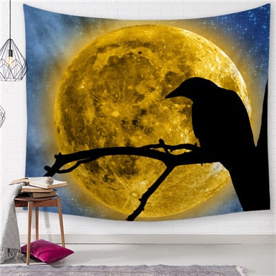 Accent Stock Moon Tapestry - Best Room Tapestry