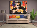 Wolf Of Wall Street Money Talks HD Canvas for Home Wall Decor - Best Room Tapestry