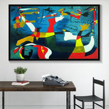 Abstract Oil Painting Wall Art Home Decoration Canvas For Living Room - Best Room Tapestry