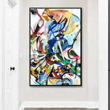 Geometric Abstract Canvas Art Wall Picture For Living Room and Home Decor - Best Room Tapestry