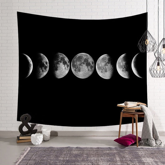 Retro Moon Tapestry - Best Room Tapestry