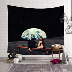 Moon Date Tapestry - Best Room Tapestry