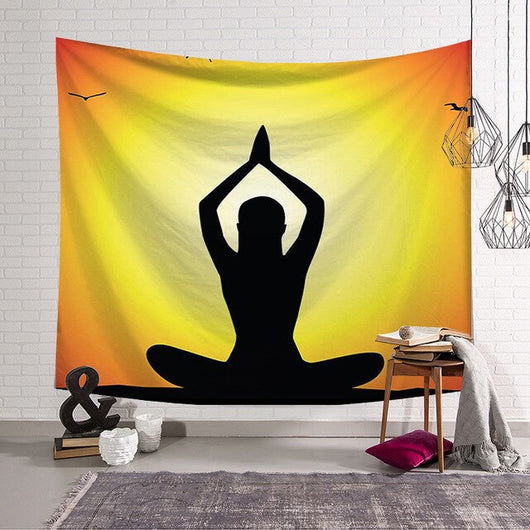 Extreme Meditation Tapestry - Best Room Tapestry