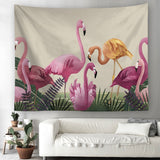 Pink Nature Tapestry - Best Room Tapestry