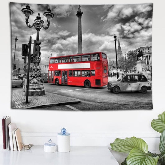 VIP London Double Decker Tapestry - Best Room Tapestry