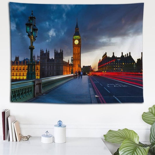 Custom London Street Tapestry - Best Room Tapestry