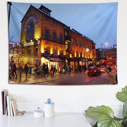 London Night View Tapestry - Best Room Tapestry