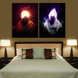 Anime Poster Uzumaki Naruto and Uchiha Sasuke Naruto Canvas Painting for Home Wall Art or Bedroom Decor - Best Room Tapestry