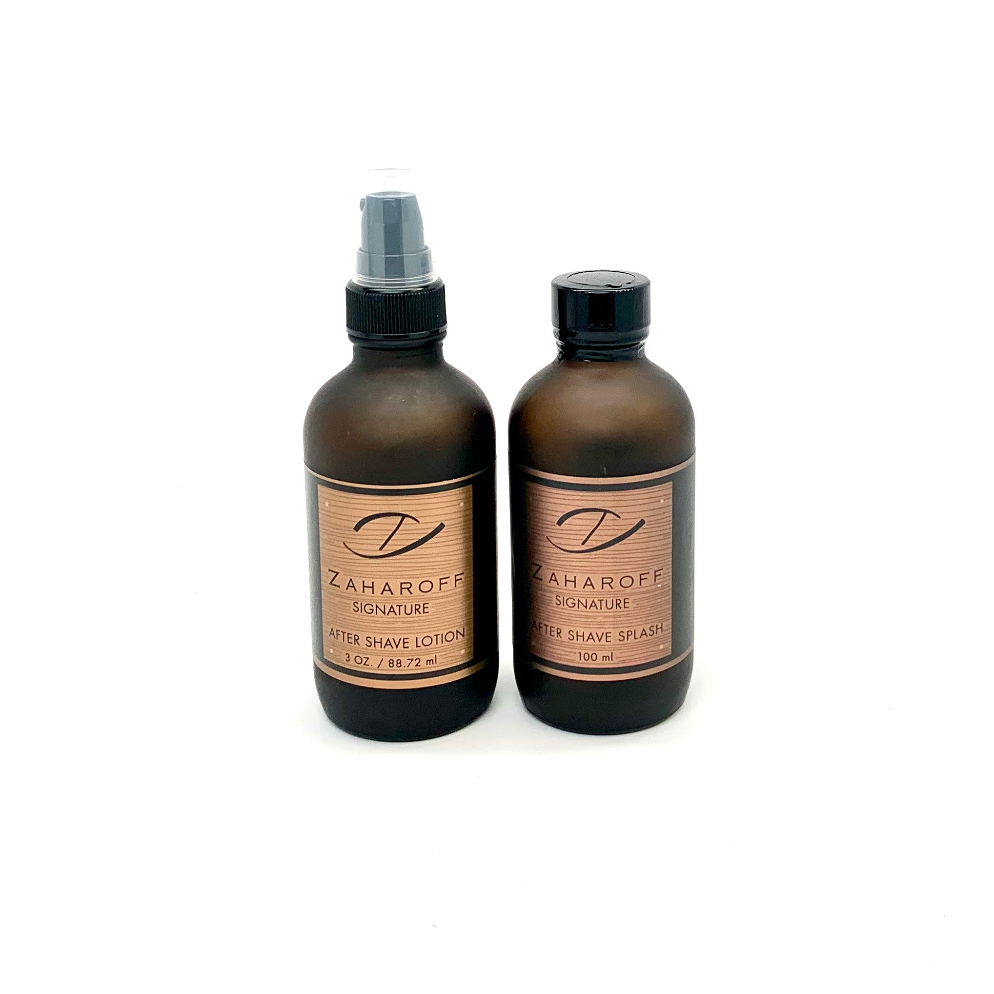 Zaharoff Signature Aftershave Splash  + Aftershave Lotion Set