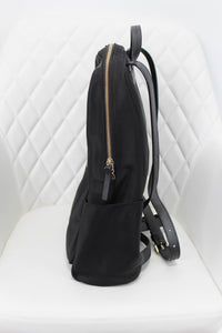 Kate Spade Black Nylon Backpack
