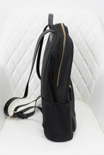 Load image into Gallery viewer, Kate Spade Black Nylon Backpack