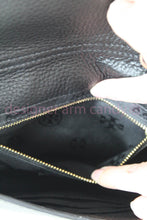 Load image into Gallery viewer, Tory Burch Black Pebbled Leather Shoulder Bag