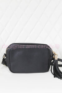 Gucci Black SoHo Disco Crossbody Bag