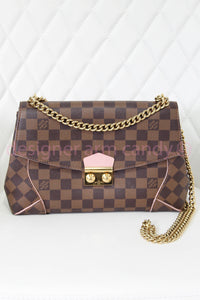 Louis Vuitton Damier Ebene Caissa Clutch Crossbody