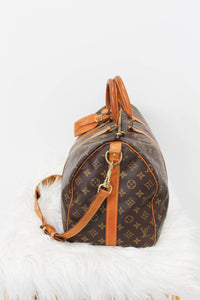 Louis Vuitton Monogram Keepall 45 Bandouliere