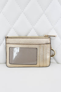 Michael Kors Gold Key Pouch