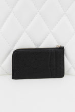 Load image into Gallery viewer, Kate Spade Pebble Leather Bow Card Key Pouch Black