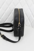 Load image into Gallery viewer, Kate Spade Black Saffiano Leather Crossbody