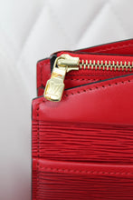 Load image into Gallery viewer, Louis Vuitton Red Epi Riviera