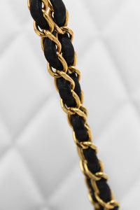 Chanel Black Lambskin Knotted Chain Flap
